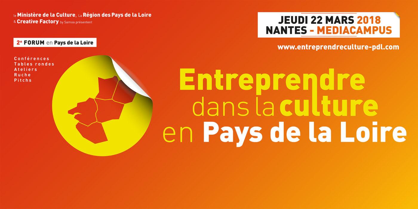 Forum Entreprendre dans la Culture — Pôle Arts Visuels Pays de la Loire