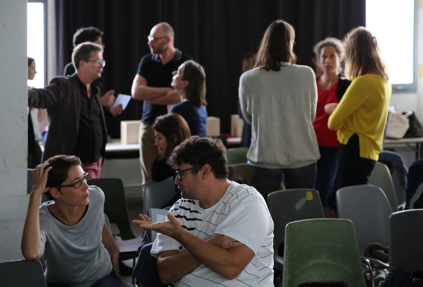 Plénière inter-collèges du Pôle arts visuels — Pôle Arts Visuels Pays de la Loire