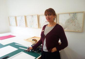 Carole Rivalin, artiste et directrice de l'École d'art de Saint-Nazaire (Saint-Nazaire, Loire Atlantique) — Pôle Arts Visuels Pays de la Loire