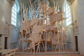 Chapelle des Calvairienne – Le Kiosque — Pôle Arts Visuels Pays de la Loire