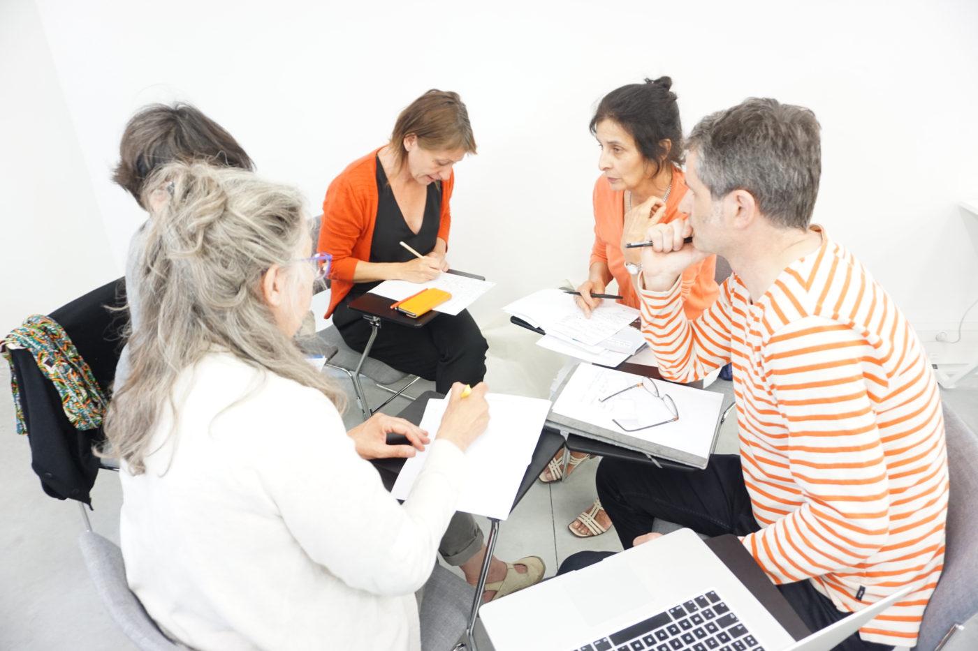 Atelier #4 L'amélioration des pratiques professionnelles au sein de la filière des arts visuels — Pôle Arts Visuels Pays de la Loire