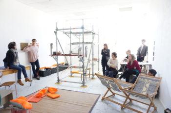 Rencontre jeunes diplômés 2019 ESAD-TALM Angers et professionnels — Pôle Arts Visuels Pays de la Loire
