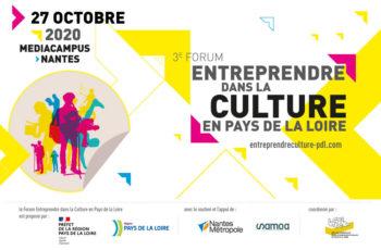 3ème Forum Entreprendre dans la culture en Pays de la Loire — Pôle Arts Visuels Pays de la Loire