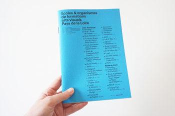 Écoles et organismes de formations arts visuels Pays de la Loire — Pôle Arts Visuels Pays de la Loire