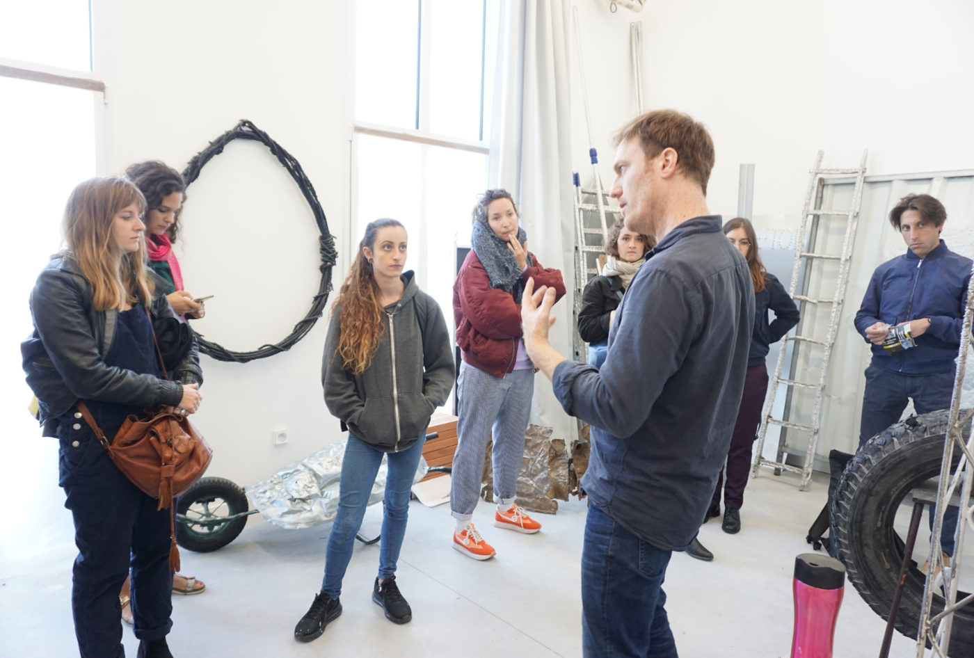 Développer sa pratique artistique — Pôle Arts Visuels Pays de la Loire