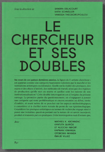 Le Chercheur et ses doubles — Pôle Arts Visuels Pays de la Loire