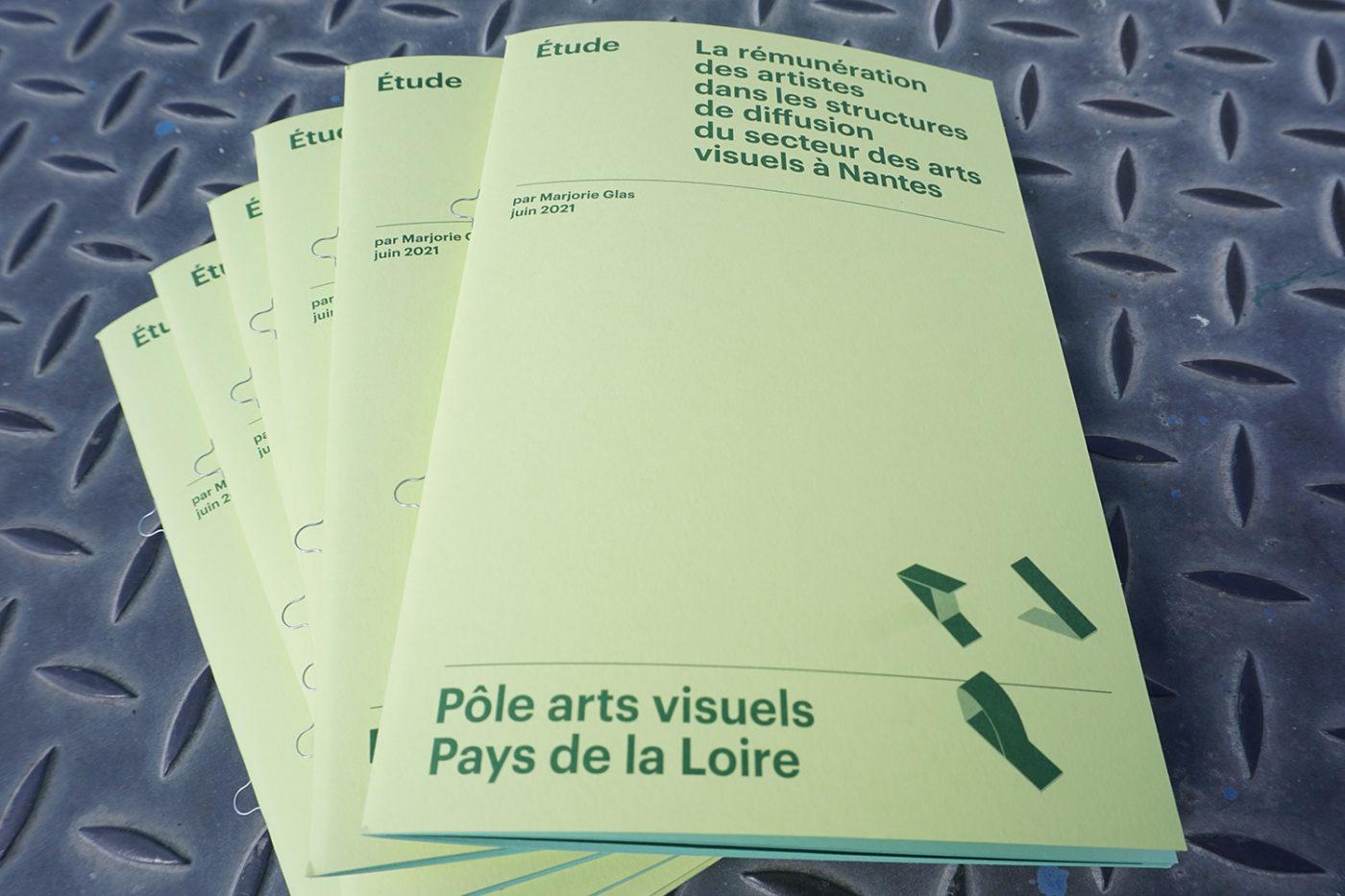 Étude sur la rémunération des artistes dans les structures de diffusion à Nantes — Pôle Arts Visuels Pays de la Loire